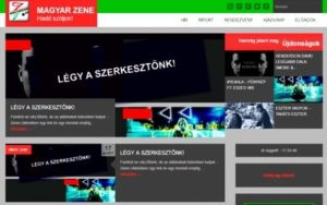 Magyar zene oldala
